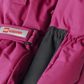 LEGO wear Alfred 706 Mitones Niños, dark pink